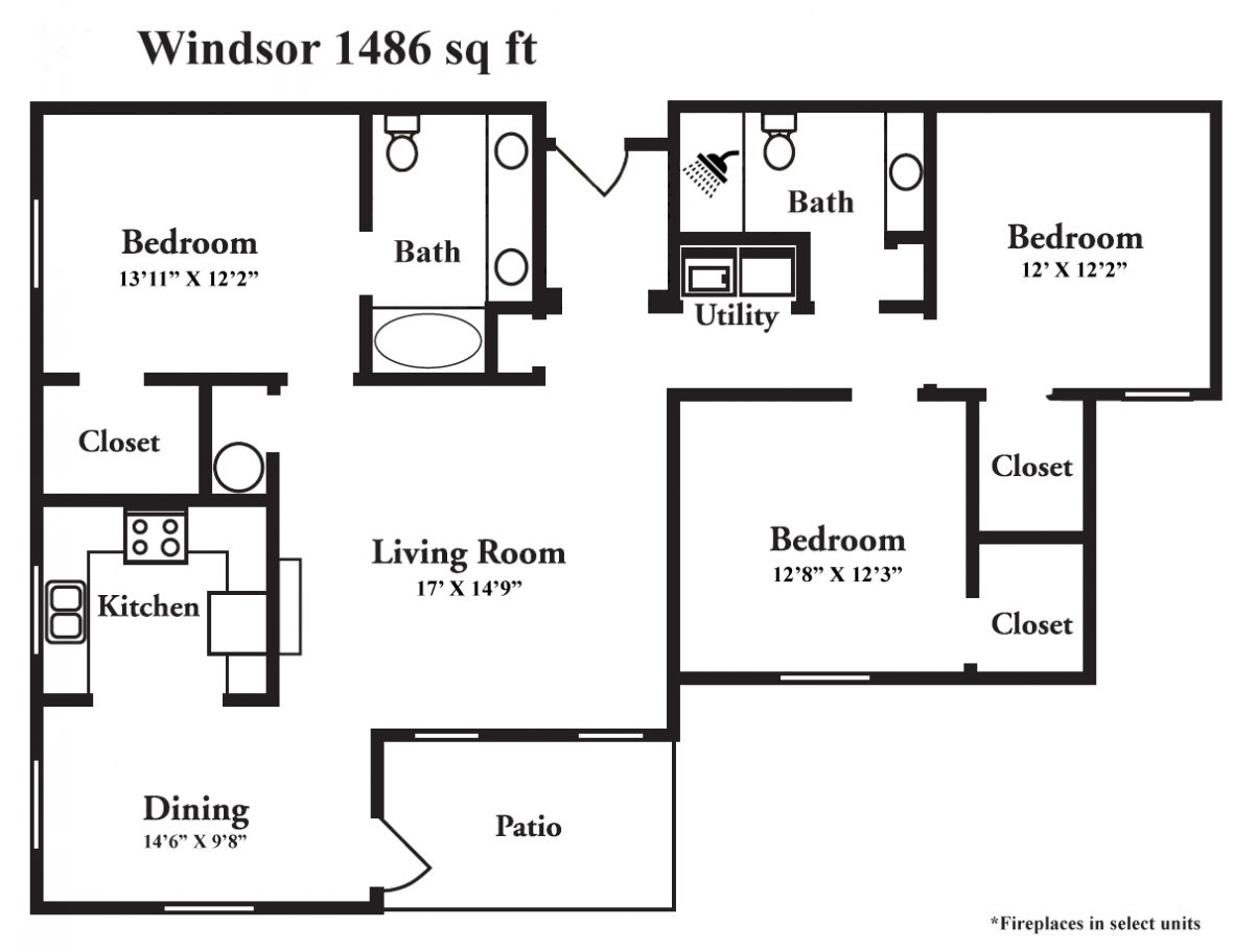 Windsor style apartment cahaba river apartments in - 3 bedroom apartments in birmingham al ...